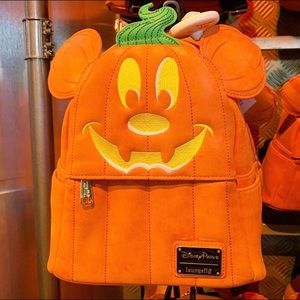 Halloween Mickey Mouse Backpack by Loungefly